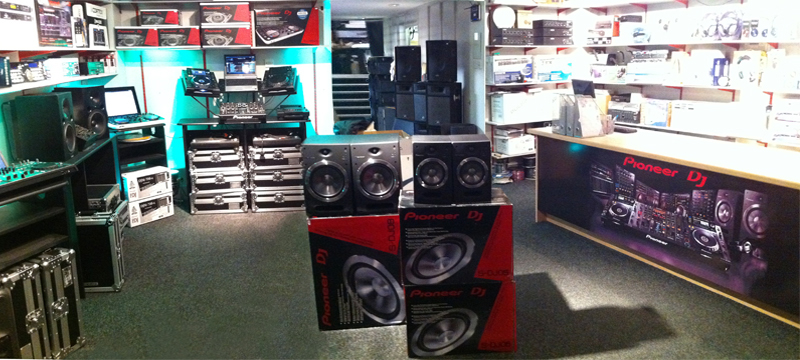 DJ shop Edinburgh